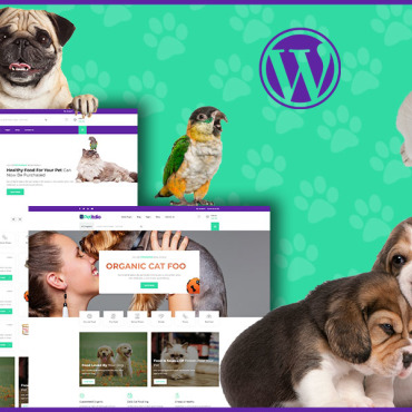 Template Animale de companie WordPress #112788