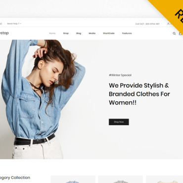 Template Modă WooCommerce #112887