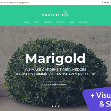 Website Template № 112889