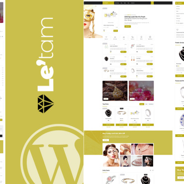 Template Modă WordPress #113318