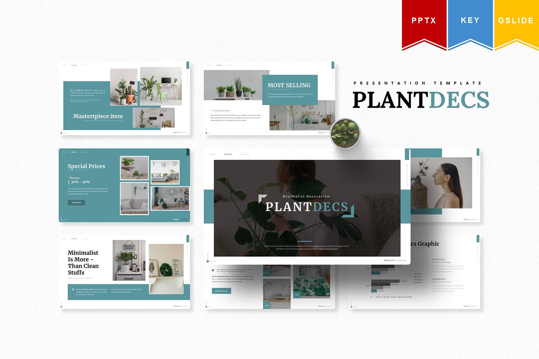 Plantdecs | , Keynote, Google Slide PowerPoint Template