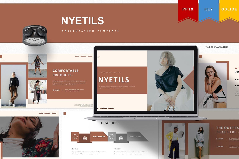 Nyetils | , Keynote, Google Slide PowerPoint Template