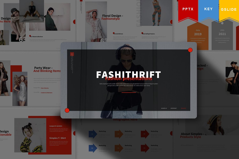 Fashithrift | Keynote, Google Slide PowerPoint Template