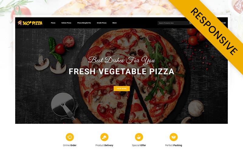 PizzaMart - Online Pizza Store OpenCart Template