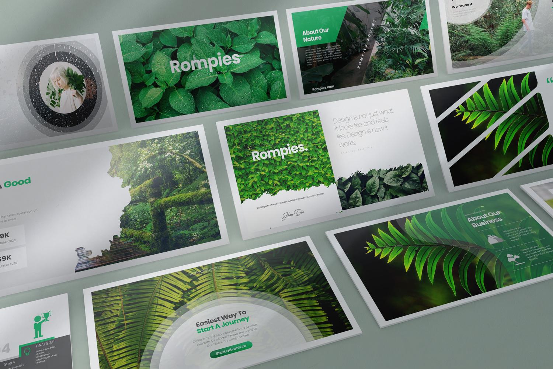 Rompies Presentation PowerPoint Template