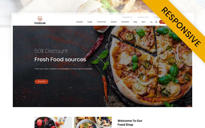 FoodLab  - Restaurant Store PrestaShop Theme