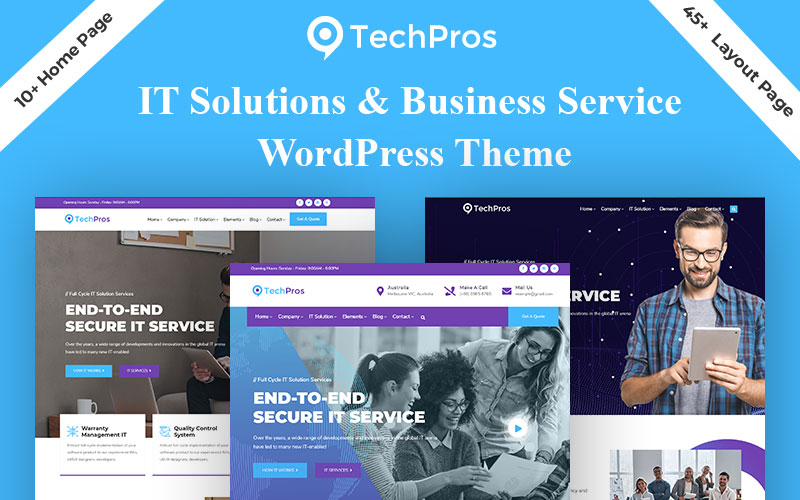 Techpros - Technology & Business Service WordPress Theme