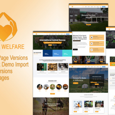 Template Animale de companie WordPress #114147