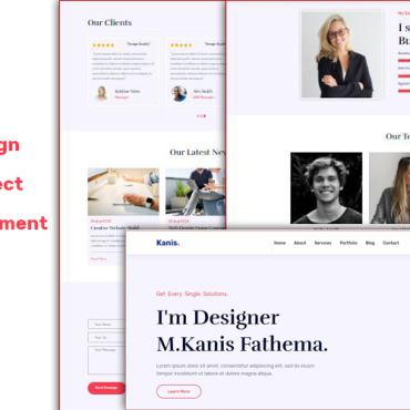 Website Template № 114300
