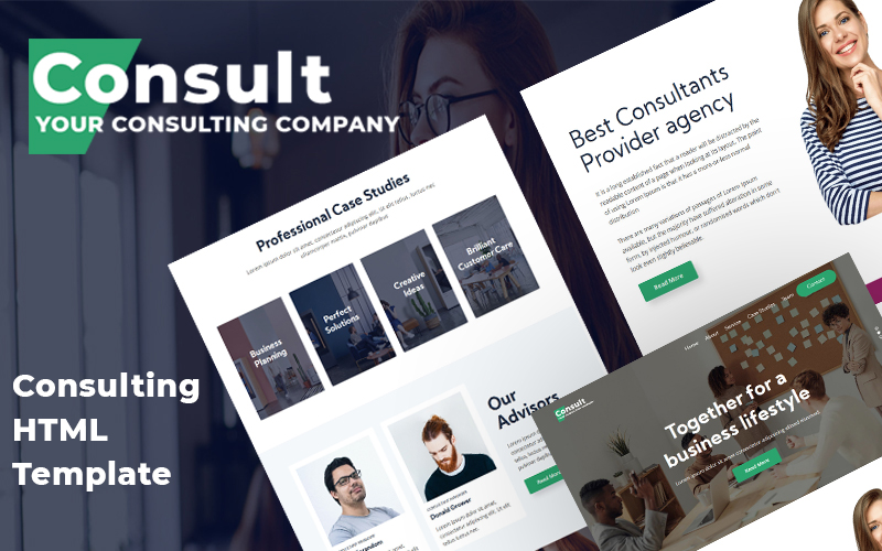 Consult - Consultation Firm Website Template