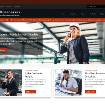 Template Industriale Joomla #115073