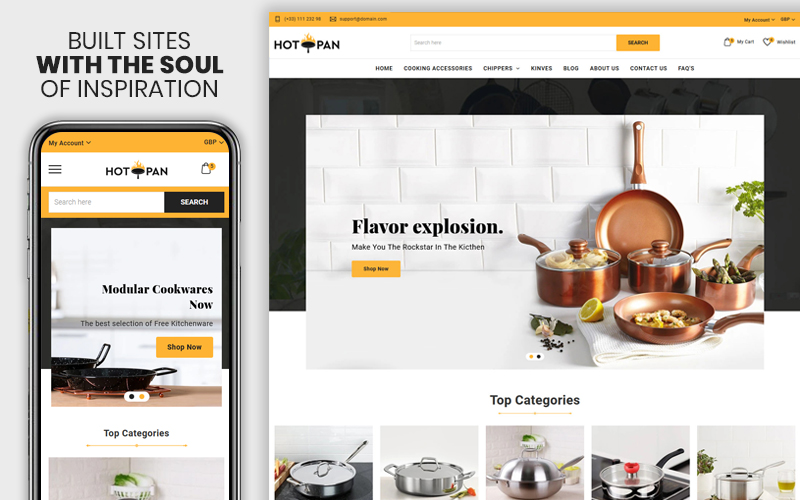 Hotpan - The Kitchen &  Appliances Premium Shopify Theme