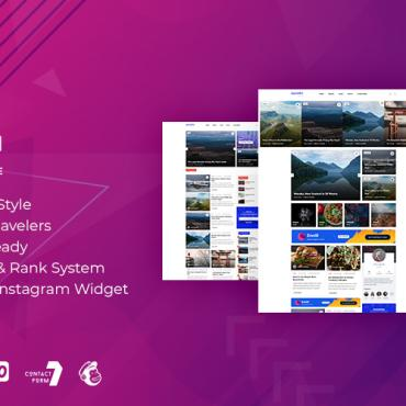 Template Turism WordPress #115554