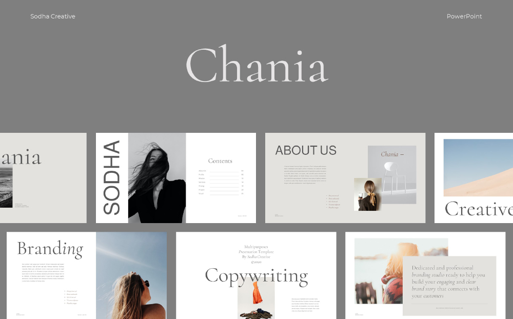 Chania PowerPoint Template