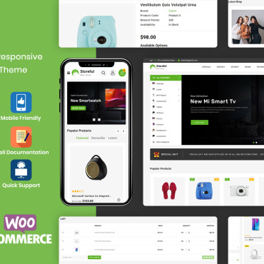 Template Modă WooCommerce #115841