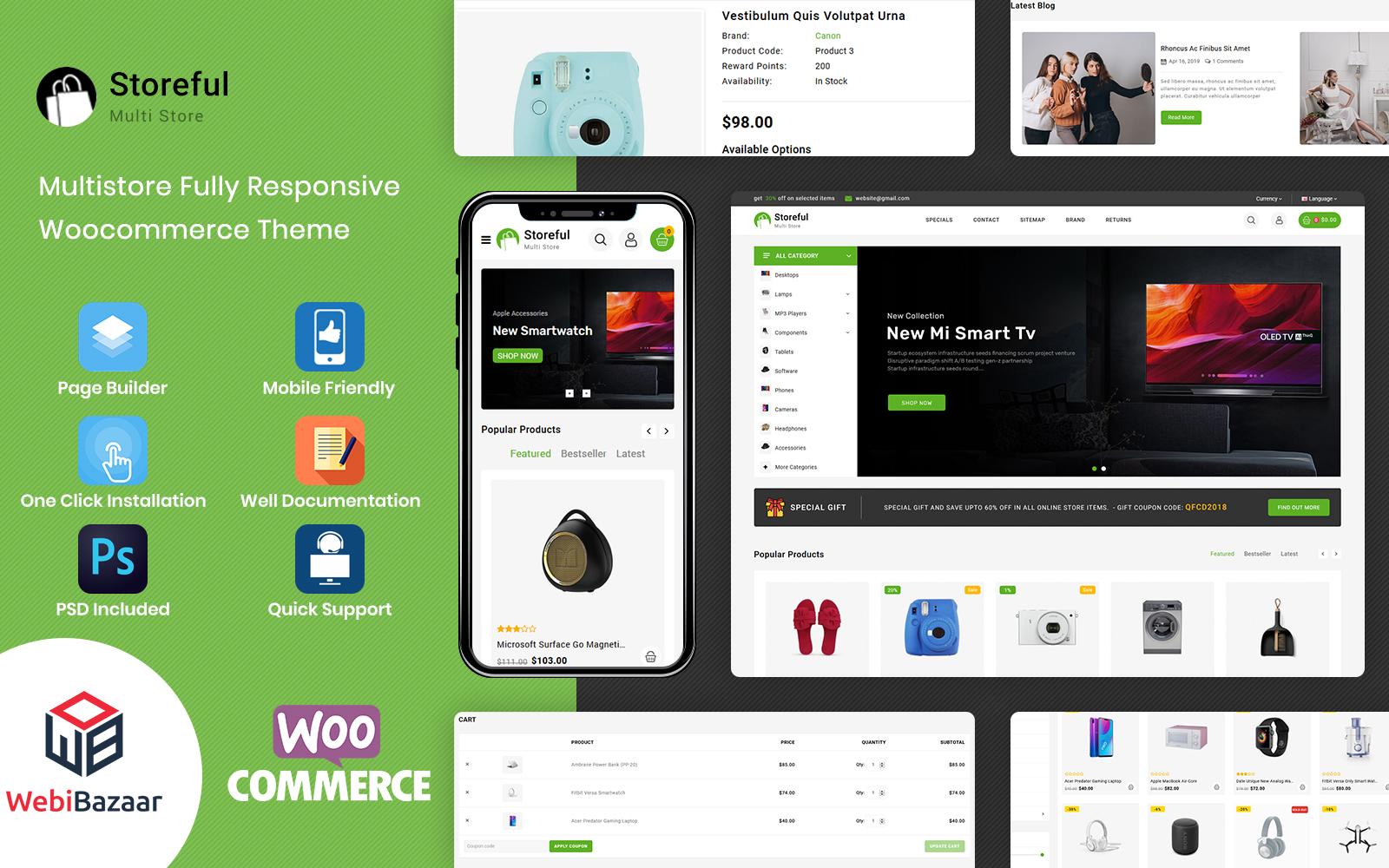 StoreFul - Multipurpose Electronics WooCommerce Theme