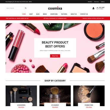 Template Electronice WooCommerce #115959