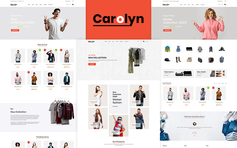 Carolyn – Fashion Shopify Theme