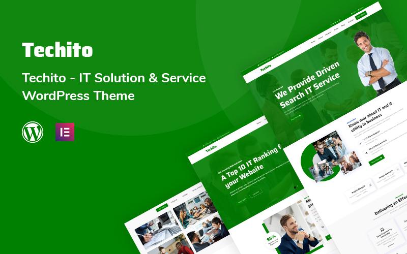 Techito - IT Solution and  Service WordPress Theme