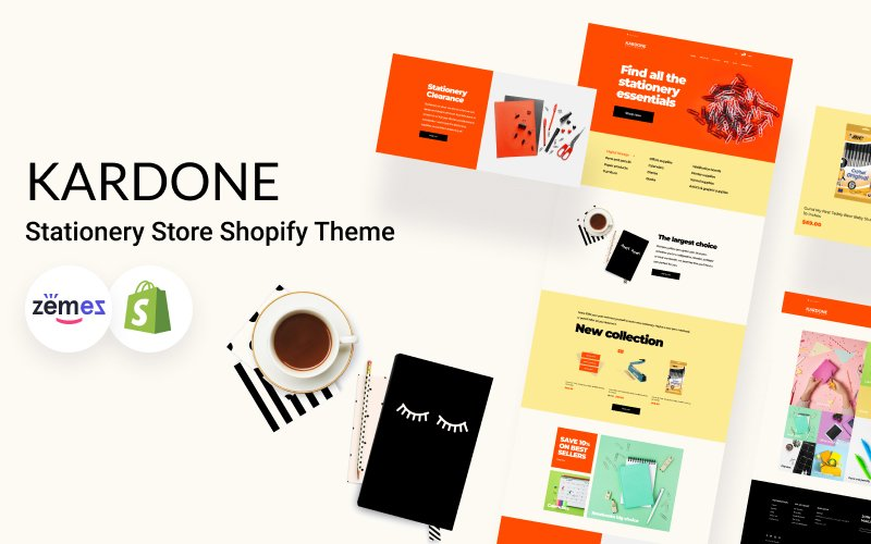 KarDone Stationery Store Shopify Theme