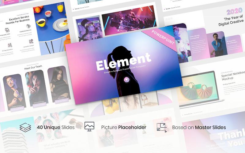 Element - Creative Business PowerPoint Template