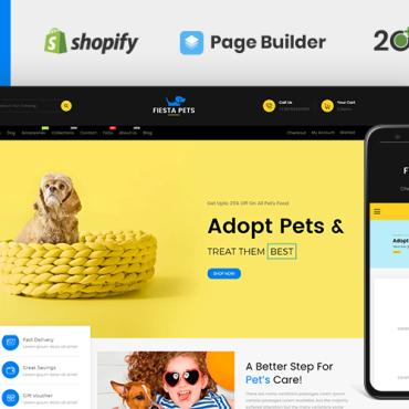 Template Animale de companie Shopify #116424