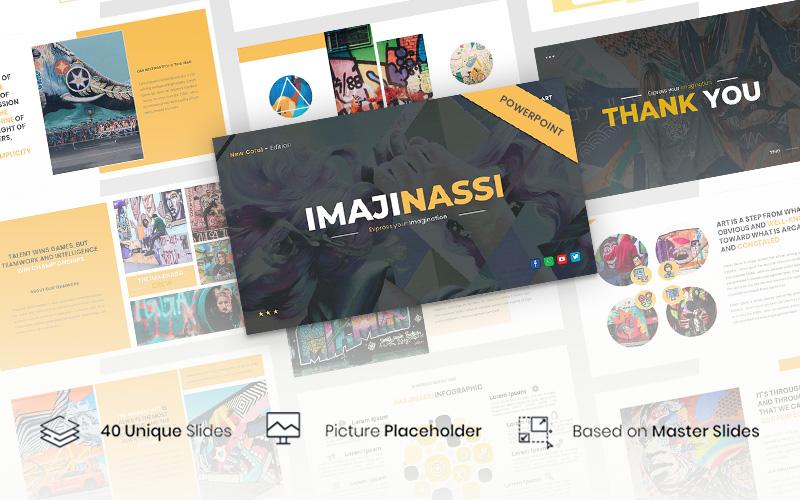 Imajinassi – Creative Business PowerPoint Template