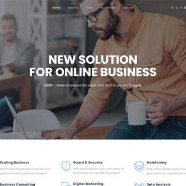 Website Template № 116856