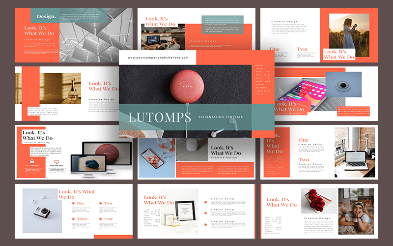 Lutomps PowerPoint Template