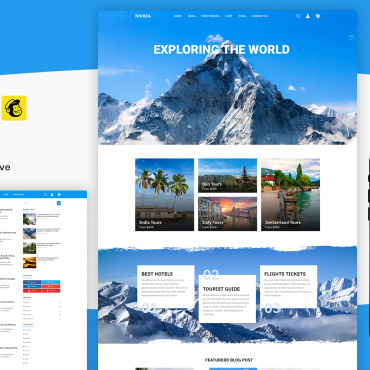 Template Turism WordPress #117014