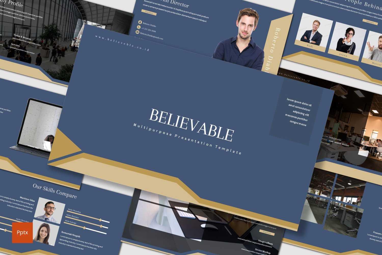 Believable PowerPoint Template