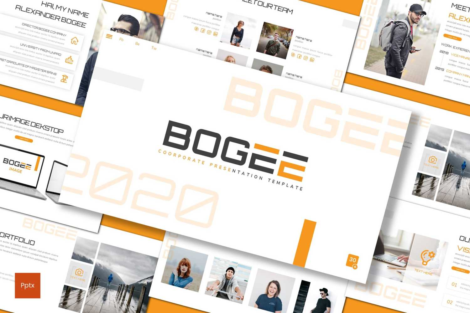 Bogee PowerPoint Template
