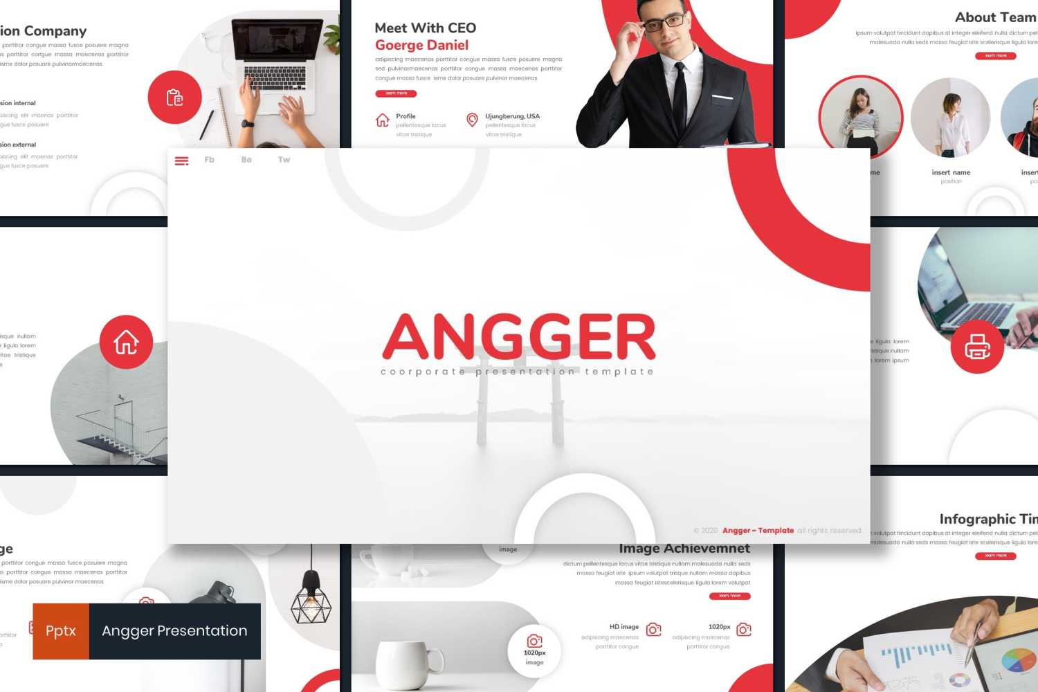 Angger PowerPoint Template