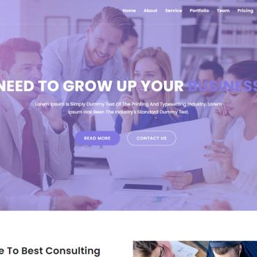 Website Template № 117436