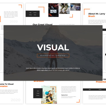 Template Sport Keynote Templates #117699