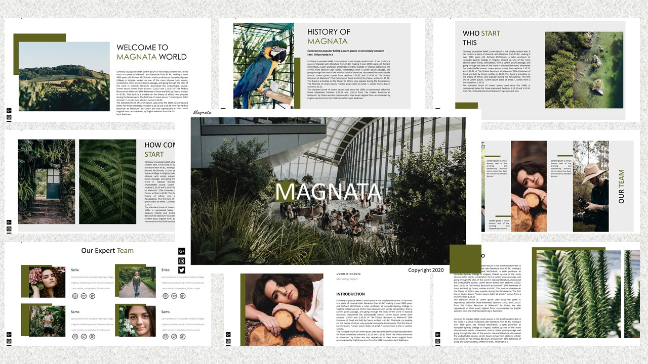 Magnata - Creative Business PowerPoint Template