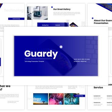 Template Electronice Keynote Templates #117832