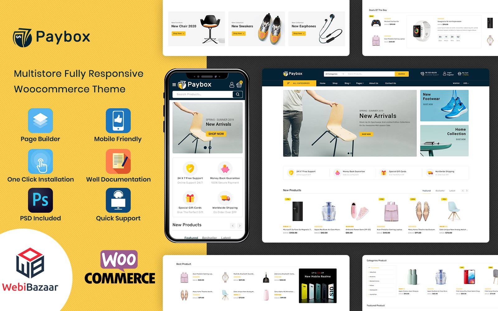 PayBox - Multipurpose Super Market WooCommerce Theme