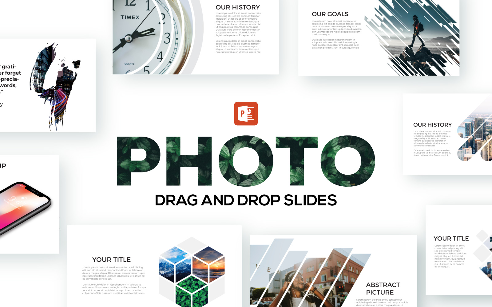 Photo Slides PowerPoint Template