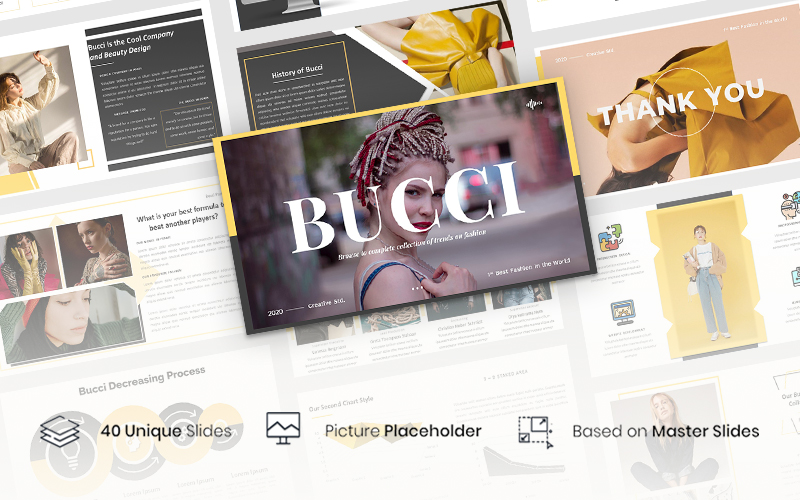 Bucci – Creative Business PowerPoint Template