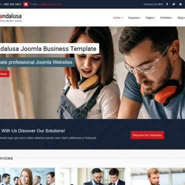 Template Industriale Joomla #118368