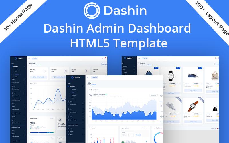 Dashin Dashboard Admin Template