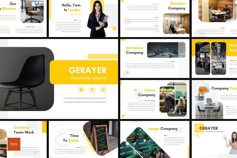 Gerayer PowerPoint Template
