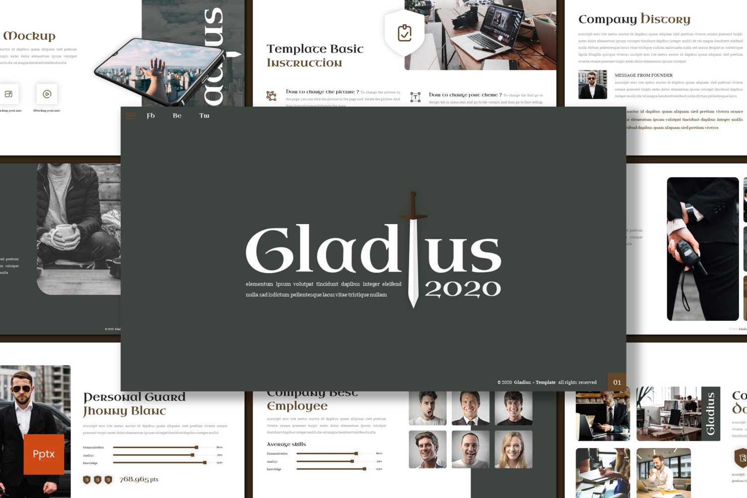 Gladius PowerPoint Template