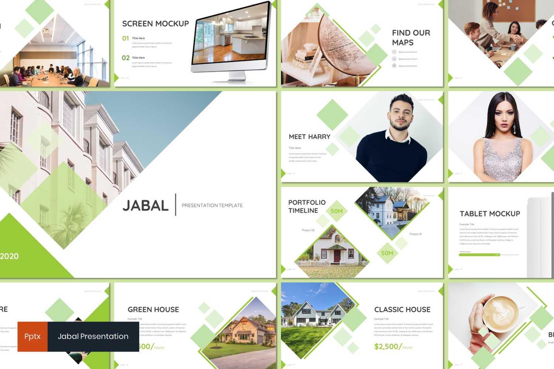 Jabal PowerPoint Template