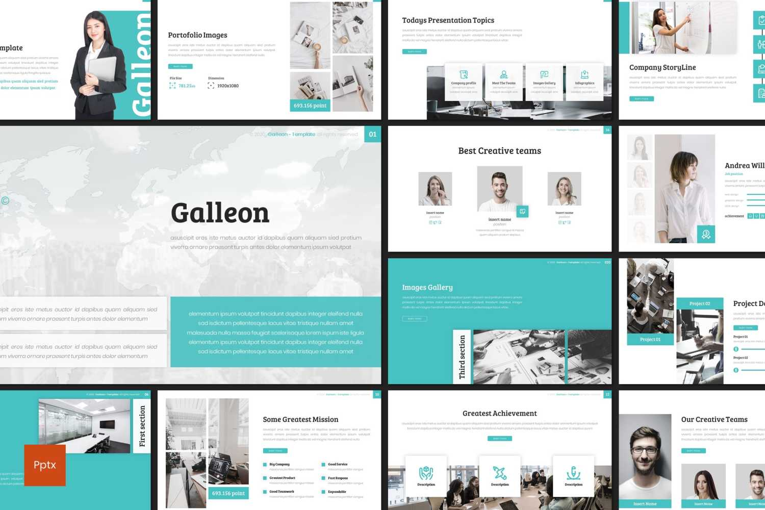 Galleon PowerPoint Template