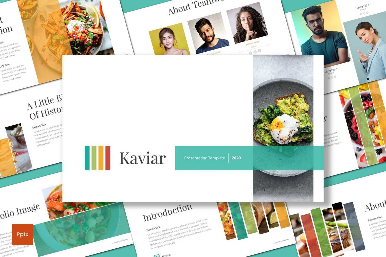 Kaviar PowerPoint Template