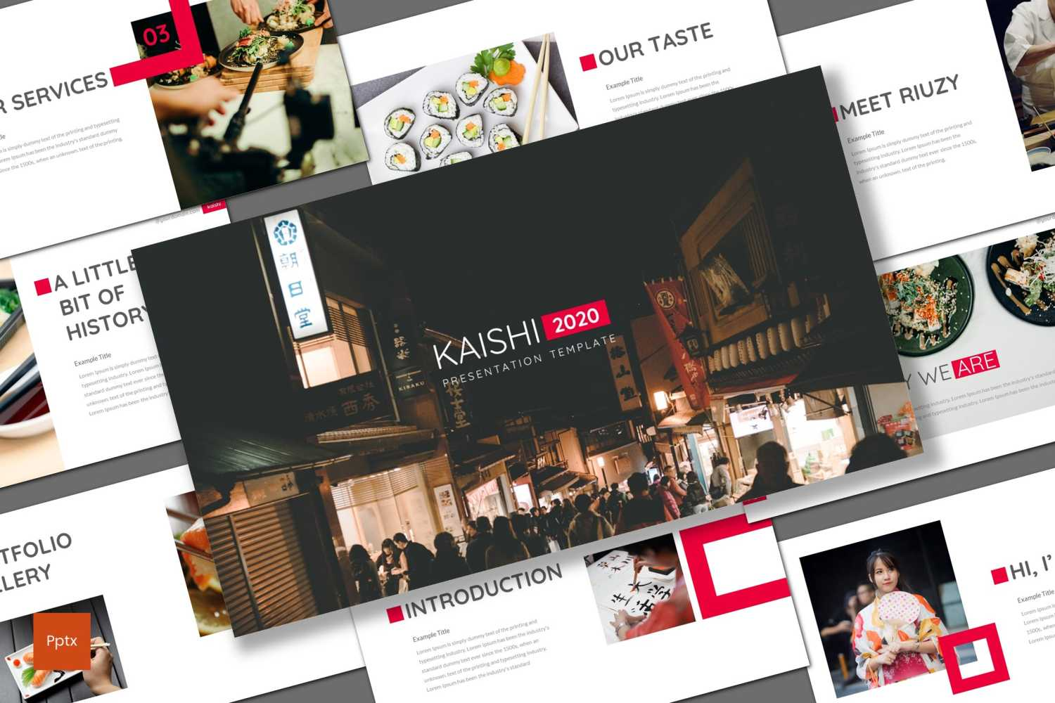 Kaishi PowerPoint Template