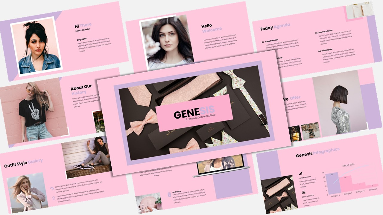 Genesis - Creative Business PowerPoint Template