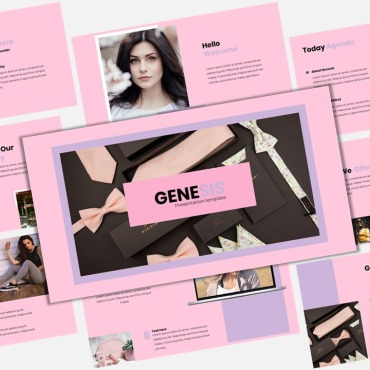 Template Modă Keynote Templates #119531